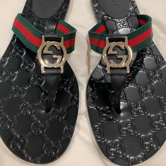 b9fb8ffa4d92 Gucci Shoes - Authentic Gucci flip flops size 37